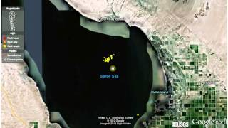 Download 9/11/12 Plumes Rising Up Near the Salton Sea Video