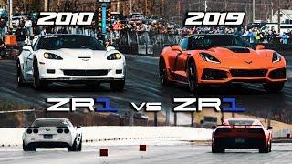 Download First 2019 ZR1 1/4 mile vs 2010 ZR1 | RPM S4 E42 Video