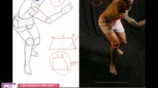 Download 09. 인체도형화 인체의 방향성에 따라 도형화 연습하기 (1) Video