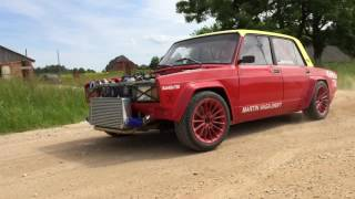 Download 600hp Lada running on BMW V8 Video