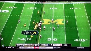Download Shane Morris Concussion & Hoke Reinserts Him Video