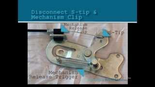 Download How To Install Repair or Replace a D-Pull, D-Ring, and Flapper Style Recliner Handle and Cable Video