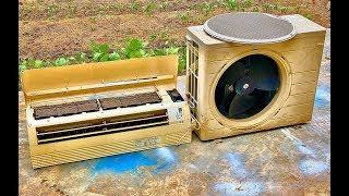 Download Restoration Air Conditioning mini 12,000 Japan Old | Restoration Air Conditioning out of date Video