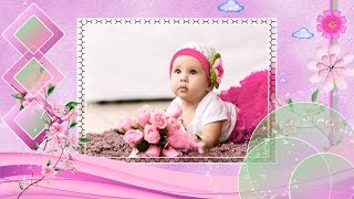Download ″Little Princess″ - Baby Girl Slideshow Templates Video