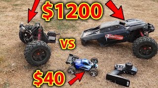 Download $40 RC Car VS $1200 RC Car - Destroyed!!! Video