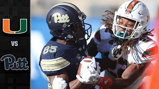 Download Miami vs. Pittsburgh Football Highlights (2017) Video