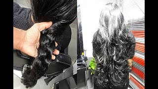 Download Makeover - Long Layered Cut without Losing Length and Thickness Video