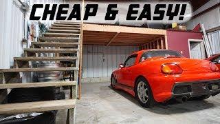 Download BUILDING MY OWN GARAGE LOFT!! Video