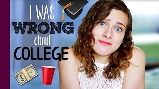 Download I WAS WRONG ABOUT COLLEGE // 6 Misconceptions Video