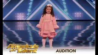 Download Sophie Fatu: The CUTEST 5-Year-Old Audition Ever! | America's Got Talent 2018 Video