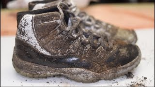 Download Cleaning The Dirtiest Jordan's Ever! $650 Air Jordan DMP 11's Back to NEW! Video