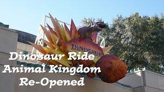 Download DINOSAUR RIDE ANIMAL KINGDOM RE-OPENS | Post Refurbishment Ride Through | FL Attractions 360 Video