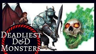 Download TOP 10 DEADLIEST D&D MONSTERS Video
