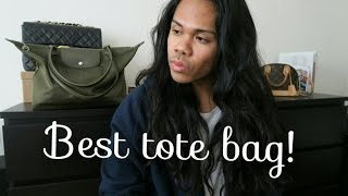 Download Best tote bag | Longchamp Le Pliage Neo in Khaki Video