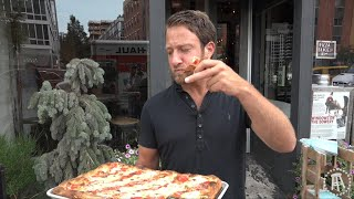 Download Barstool Pizza Review - 310 Bowery Bar Pizza Featuring 9x World Champion Pizza Maker Video