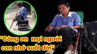 Download Trao lì xì tết vô cùng ấm áp cho anh Lượng mù chuyên hát nhạc buồn Đan Nguyên - Guufood Video