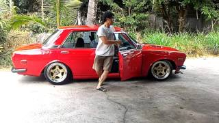 Download DATSUN 510 acrophobia #family car Video