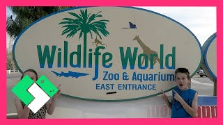 Download FAMILY FUN AT WILDLIFE WORLD ZOO & AQUARIUM (Day 1429) | Clintus.tv Video