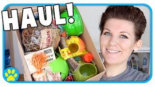 Download Big Pet Supply Haul! 🐹🐭🐶 Viovet Unboxing Video