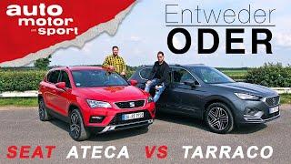 Download Seat Ateca vs Tarraco: Wer ist besser? - Entweder ODER | (Vergleich/Review) auto motor und sport Video