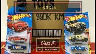 Download Unboxing - Hot Wheels Case K 2019 Video