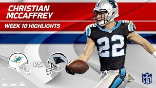 Download Christian McCaffrey's 2 TD Game vs. Miami! | Dolphins vs. Panthers | Wk 10 Player Highlights Video