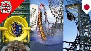 Download 10 CRAZY Japanese Roller Coasters Video
