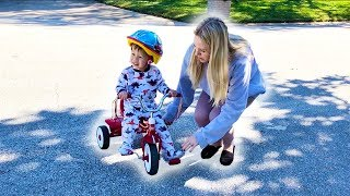Download Jackson's First Bicycle (Warning: Cuteness Overload!) Video