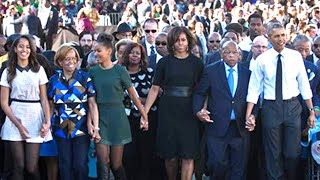 Download The Obamas March In Selma Video