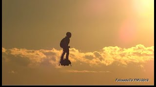 Download zapata flyboard air® plays with clouds! Video