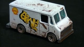 Download Custom Repaint and Weathering Effects on a Hot Wheels Combat Medic Video