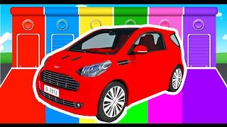 Download Car Colors for Kids - Learning Educational Video & Learn Vechicles - Children Nursery Rhymes Video