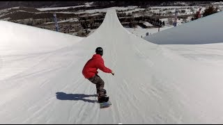Download First-Ever Double Super Pipe Snowboard Session Video