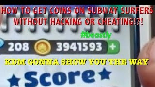 Download Getting Coins on Subway Surfers?! No Cheats or Hacks! Video