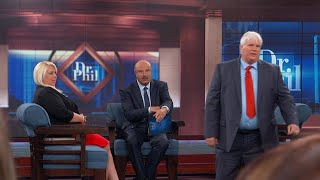 Download Woman's Husband And Man She's Dating Meet For The First Time On Dr. Phil's Stage Video