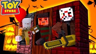 Download Minecraft Toy Store - THE EVIL HALLOWEEN TOYS ARRIVE! Video