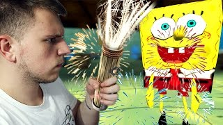 Download SPONGEBOB vs FIREWORKS (Gmod Sandbox) Video