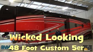 Download Wicked Looking Custom 48 Foot 5th Wheel from New Horizons Video