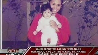 Download SONA: Saudi reporter, naluha nang makita sa TV ang Pinay na yaya pagkatapos ng 22 taon Video