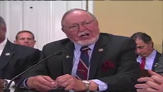 Download Congressman Don Young testifies before the House Rules Committee Video