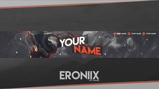 Download YouTube Banner Template | League of Legends [Free] Video