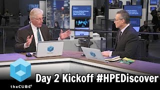 Download Day 2 Kickoff With Dave Vellante & Paul Gillin - HPE Discover 2016 - #HPEDiscover - #theCUBE Video