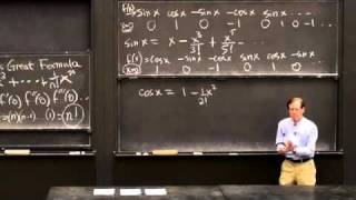 Download Power Series/Euler's Great Formula | MIT Highlights of Calculus Video
