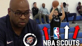Download LiAngelo Ball SHOOTING W/20+ NBA TEAMS Watching! Video