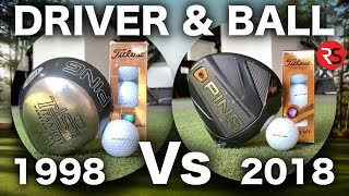 Download 2018 DRIVER & BALL Vs 1998 DRIVER & BALL - AMAZING RESULTS! Video