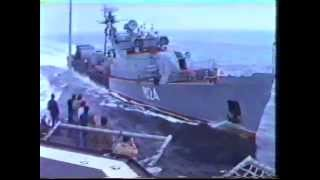 Download USS Caron getting rammed by the Russians in the Black Sea - Feb 1988 Video
