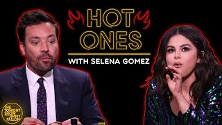 Download Selena Gomez and Jimmy Cry While Eating Spicy Wings (Hot Ones) Video