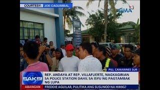 Download Saksi: Rep. Andaya at Rep. Villafuerte, nagkainitan dahil sa isyu ng pagtambak ng lupa Video