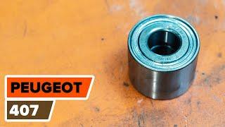 Download Så byter du hjullager, bak på PEUGEOT 407 [GUIDE] Video