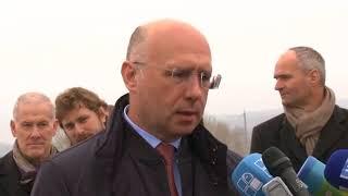Download Declaraţiile premierului Pavel Filip la deschiderea podului Gura Bîcului - Bîcioc Video